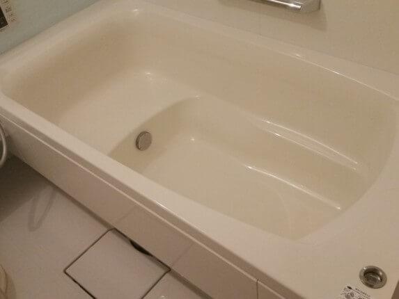 浴槽の黒ずみ