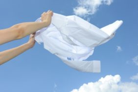 洗濯物の臭い