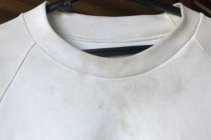 油汚れ洗濯方法
